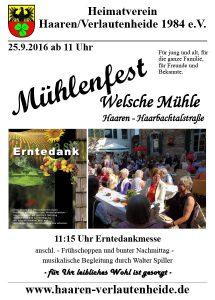 Mühlenfest @ Welsche Mühle | Aachen | Nordrhein-Westfalen | Deutschland