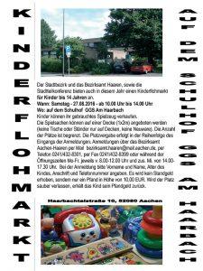 Kinderflohmarkt @  GGS Am Haarbach | Aachen | Nordrhein-Westfalen | Deutschland