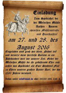 Ritterfest @ Welsche Mühle | Aachen | Nordrhein-Westfalen | Deutschland