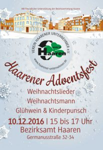 Adventsfest 2016 @ Bezirksamt Platz | Aachen | Nordrhein-Westfalen | Deutschland