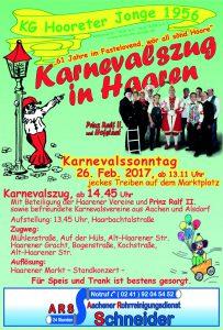 Karnevalzug @ Haarener Markt | Aachen | Nordrhein-Westfalen | Deutschland