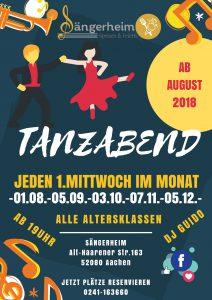Tanzabend @ Sängerheim | Aachen | Nordrhein-Westfalen | Deutschland