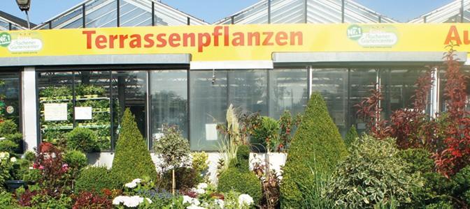 Erstes Gartencenter