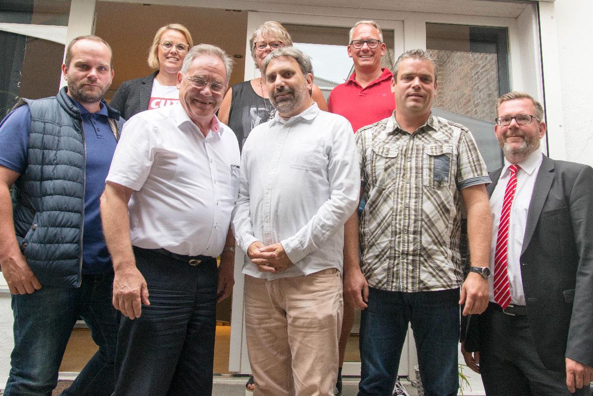Verein Haarener Unternehmer e.V. Vorstand 2018