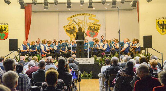 Jahreskonzert des Blasorchester