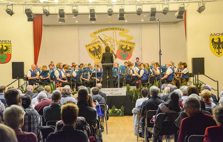 Blasorchester Aachen Haaren Jahreskonzert Foto © Alexander Samsz