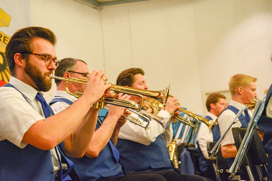Jahreskonzert des Blasorchester Aachen Haaren Foto © Alexander Samsz