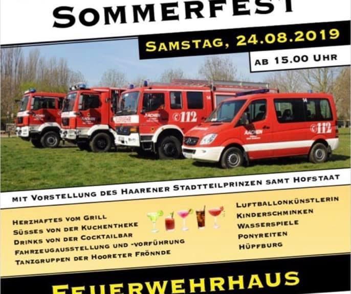 Sommerfest Feuerwehrgerätehaus