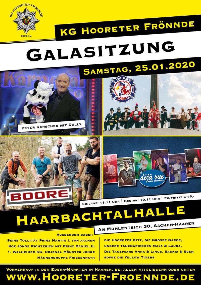 Galasitzung Hooreter Frönnde 2020