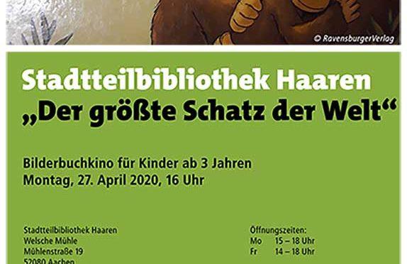 """Stadtbibliothek Haaren:""""Der größte Schatz der Welt"""""""