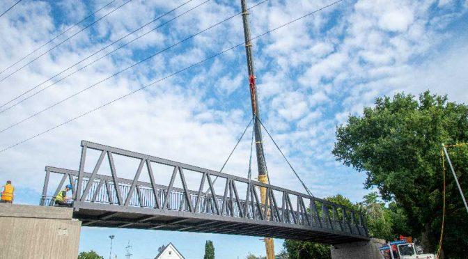Brücken montiert