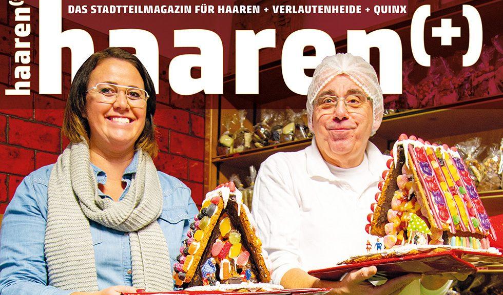 Haaren(+) 33 Viertelmagazin Winter 2020/21