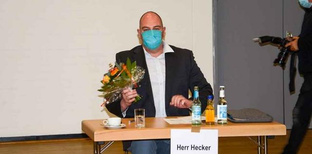 Daniel Hecker, CDU, Bezirksbürgermeister