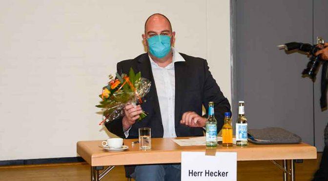 Daniel Hecker ist neuer Bezirksbürgermeister