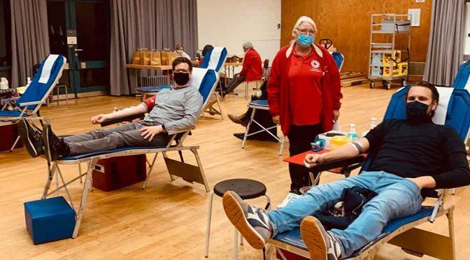 Bezirksamt Haaren unterstützt die Blutspende