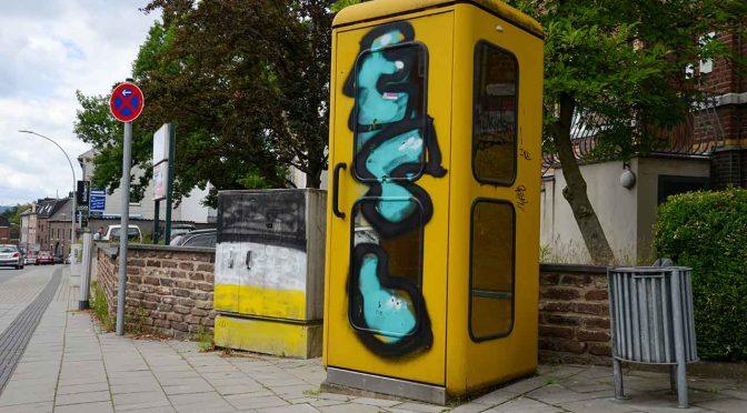 Telefonzelle Denkmal